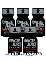 5 x JUNGLE JUICE BLACK LABEL small - PACK