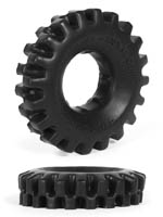 Burning Wheels 100% Silicone Cockring CK03 Black