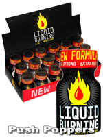 BOX LIQUID BURNING small - 18 x