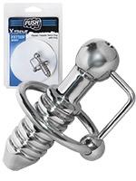 Push Xtreme Fetish - Ripped Torpedo Penis Plug With Ring