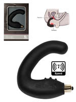 7 Speed Rude Boy Prostate Massager - Black