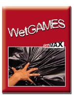 Wet Games Sex-Laken - black 180x220 cm