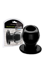 Ass Tunnel Plug black - Large