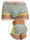 Modus Vivendi - Striped Flash Brazil Boxer - Grau