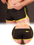 Barcode Gym Short Black/Yellow