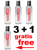 3 + 1 RUSH LUBE SILICONE PACK