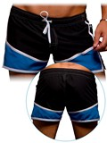 Andrew Christian - Flow Swim Shorts Black/Electric