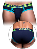 Andrew Christian - Fly Tagless Brief - Navy