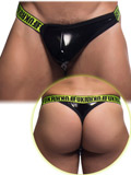 Andrew Christian - FUKR Gloss Surge Thong - Black