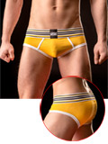 Barcode Brief Vicente All Day - yellow/white/black
