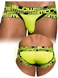 Andrew Christian - BLOW! Shock Brief Neon Yellow