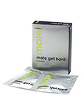 Gel stimulant Male Get Hard en sachets 6 x 4 ml