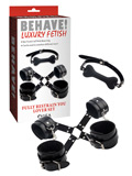 Behave! Luxury Fetish - Fully Restrain You Lover Set