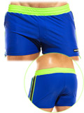 Modus Vivendi - Mix & Match Zipper Short - Blue