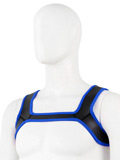 Pupplay Neoprene Harness - Blue/Black