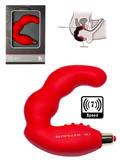 7 Speed Bad Boy Prostate Massager - Red